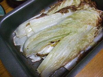 白菜オーブン焼き.JPG